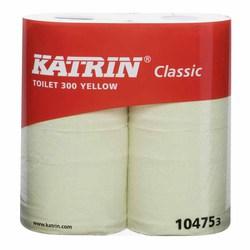 Katrin 104753 Classic Toilet 300 yellow WC-paperi