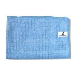 Heti lattiapyyhe ruutu 50x70 cm sininen