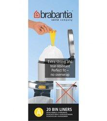 Jätepussi 3 ltr Brabantia 20 pss/rll