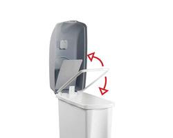 WC-roska-astia Elle 17 ltr, sideaukolla T-5480
