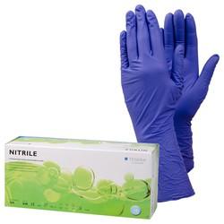 Tegera 848 kertakäyttökäsine nitriili 100 kpl/pkt erikoispitkä