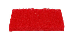 Hankauslevy punainen 20 cm