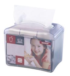 Katrin 22564 Resta Table Top lautasliina-annostelija harmaa muovi