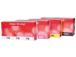 Vinyylikäsine Clean 1A 100 kpl/pkt 1761