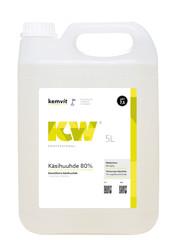 KW Käsihuuhde 80% 5 ltr