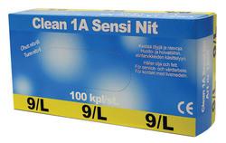 Nitriilikäsine Clean 1A Sensitive 100 kpl/pkt
