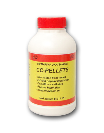 CC-Pellets, viemärinaukaisuaine 500 ml