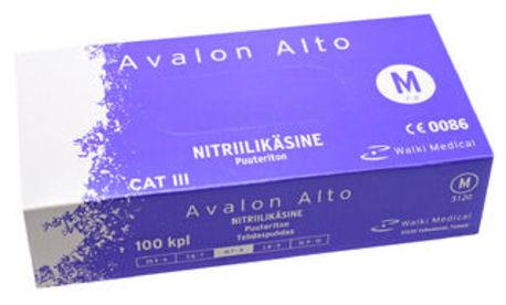 Avalon Alto nitriilikäsine 100 kpl/pkt