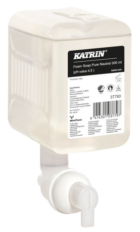 Katrin 37780 Foamwash vaahtosaippua Pure Neutral 500 ml